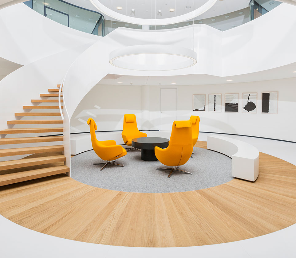 Von der Eberhard Horn Designgruppe geplanter Eingangsbereich