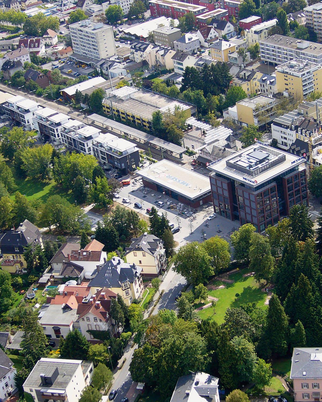 Aufsicht Gelände Messer Group - Architektur Eberhard Horn Designgruppe