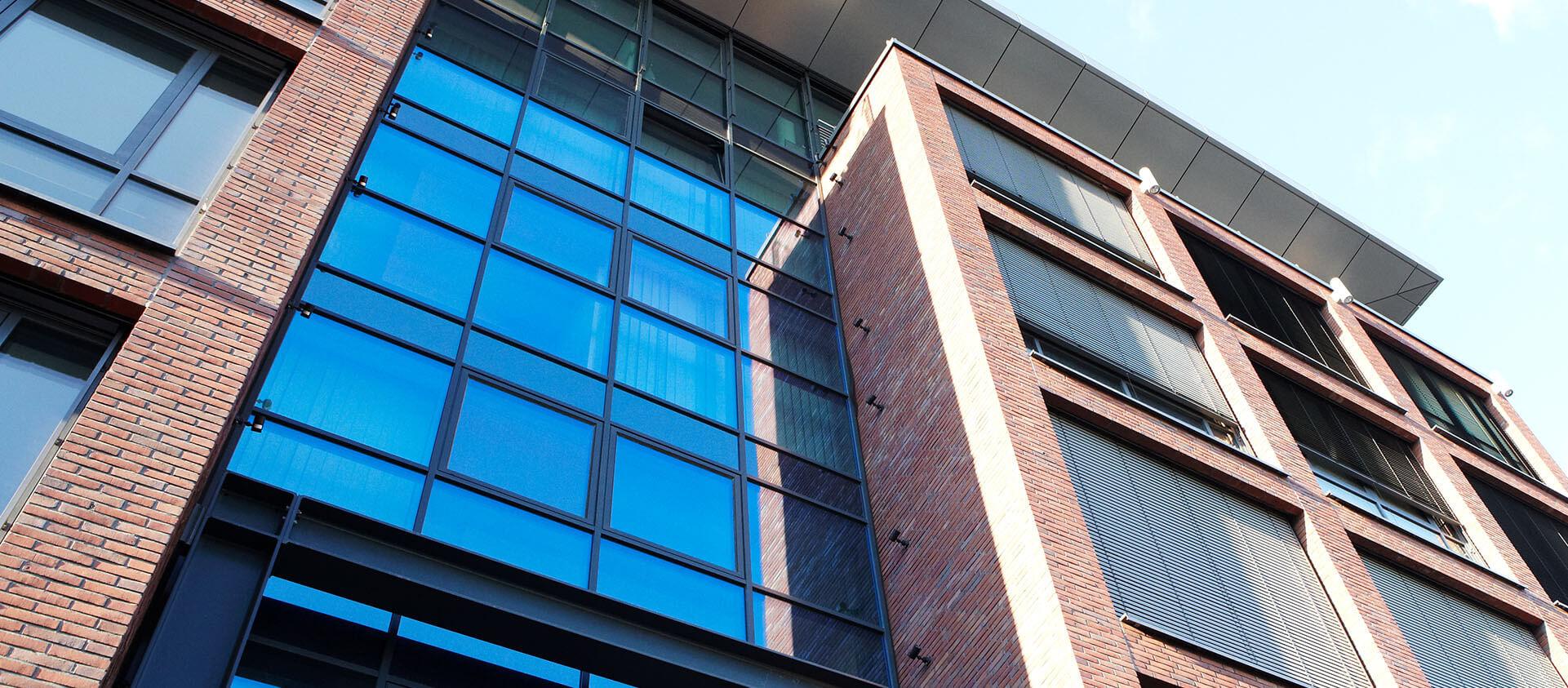 Hauptverwaltung Messergroup Ansicht Gebäude - Architektur Eberrhard Horn Designgruppe