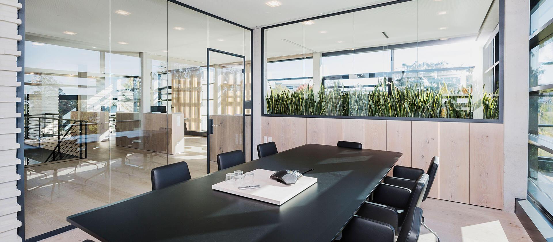 Konferenzraum Königstein im Taunus - modernes Office Eberhard Horn Designgruppe