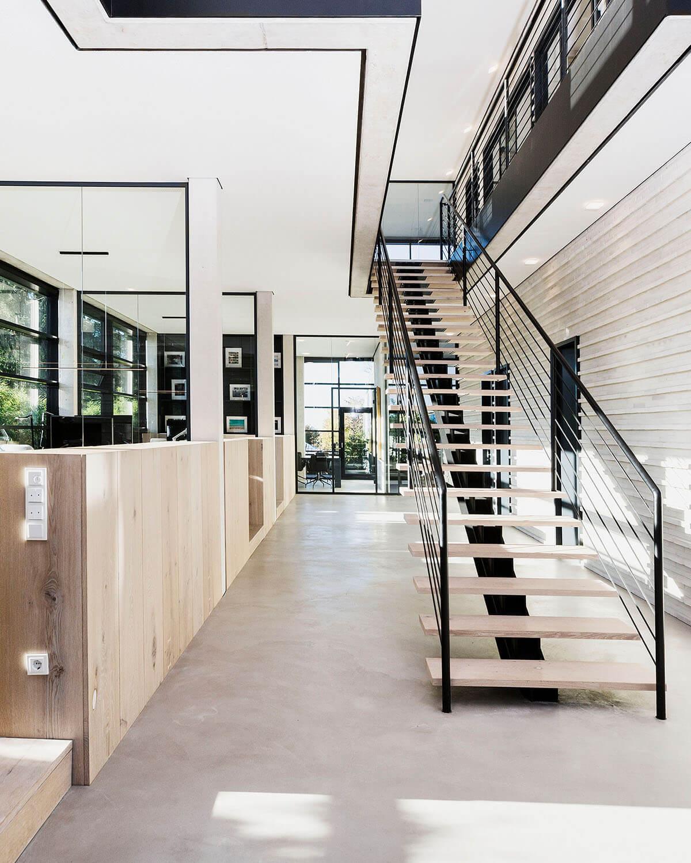 Eingangsbereich Eberhard Horn Designgruppe - Büro für Architektur und Projektentwicklung