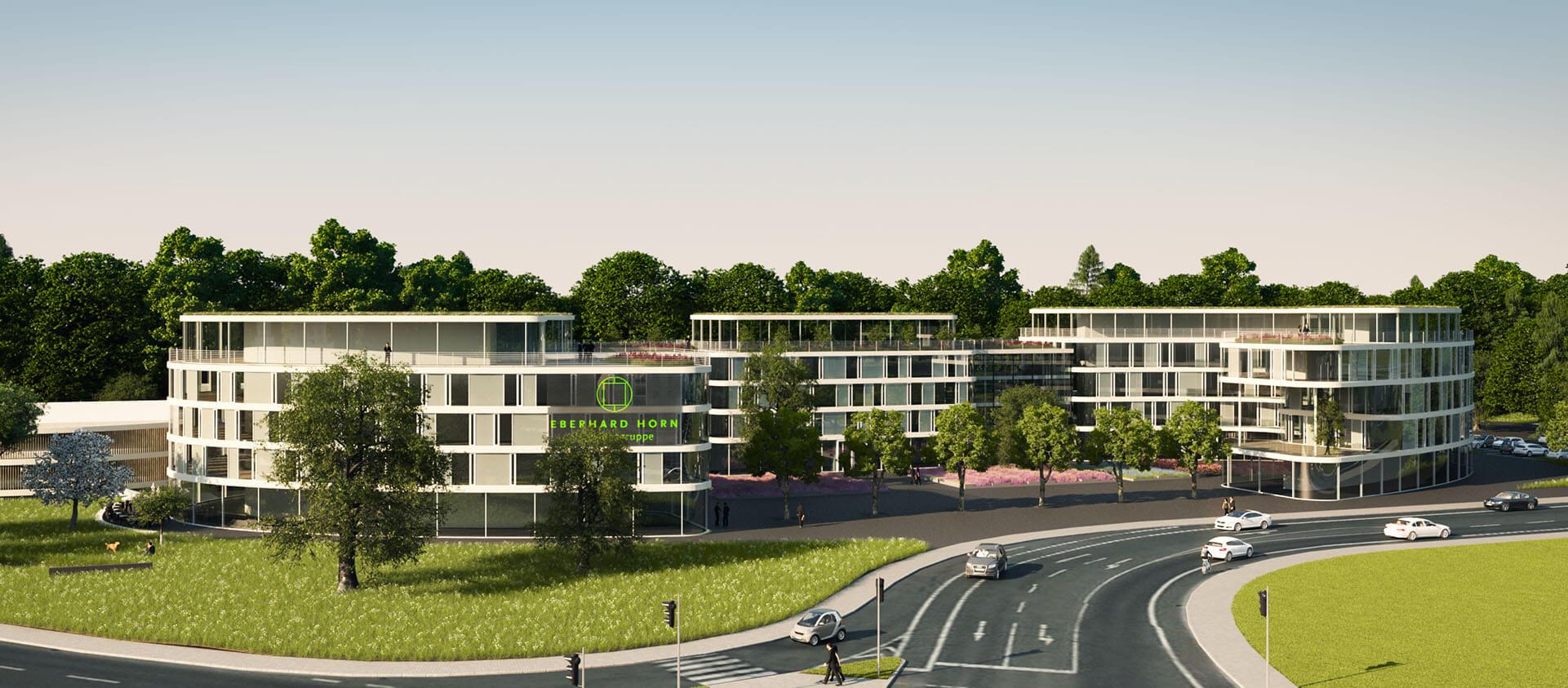 Projektentwicklung Bad Homburg Eberhard Horn Designgruppe, Übersicht Natural Balance Campus