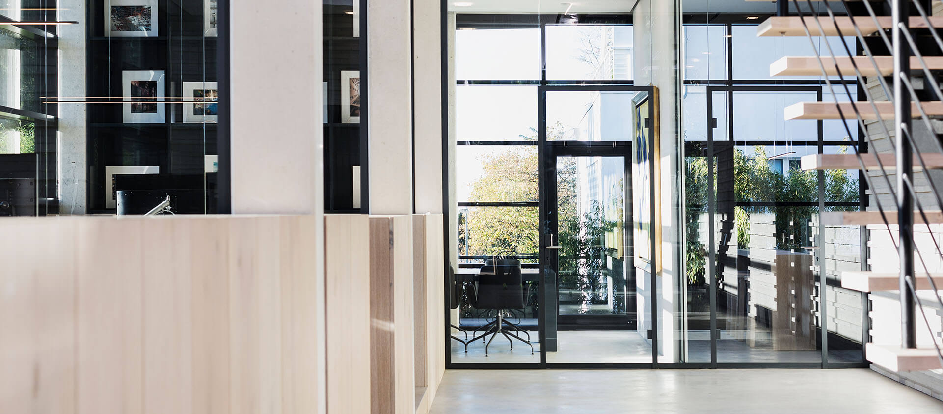 Eberhard und Florian Horn Architektur Office Interieur