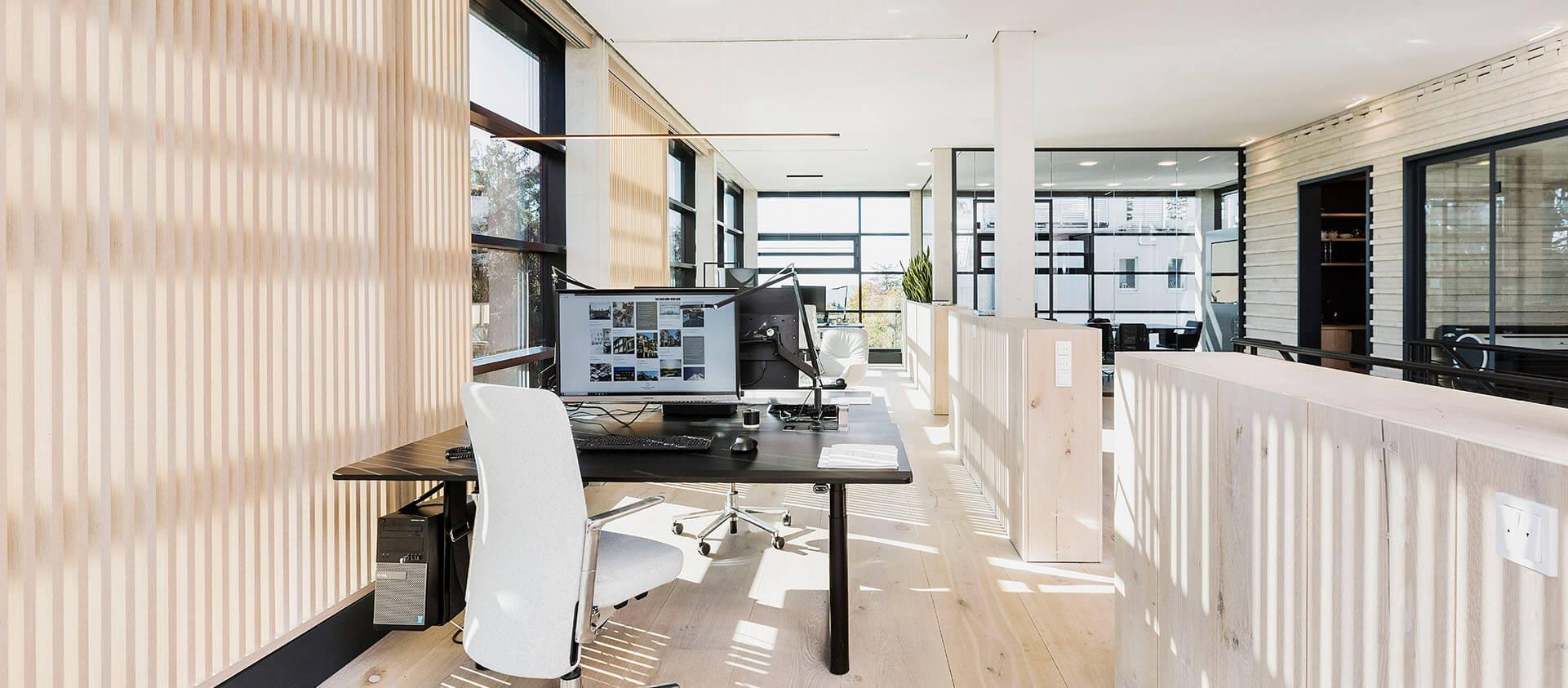Eberhard und Florian Horn Architektur Office Arbeitsbereich