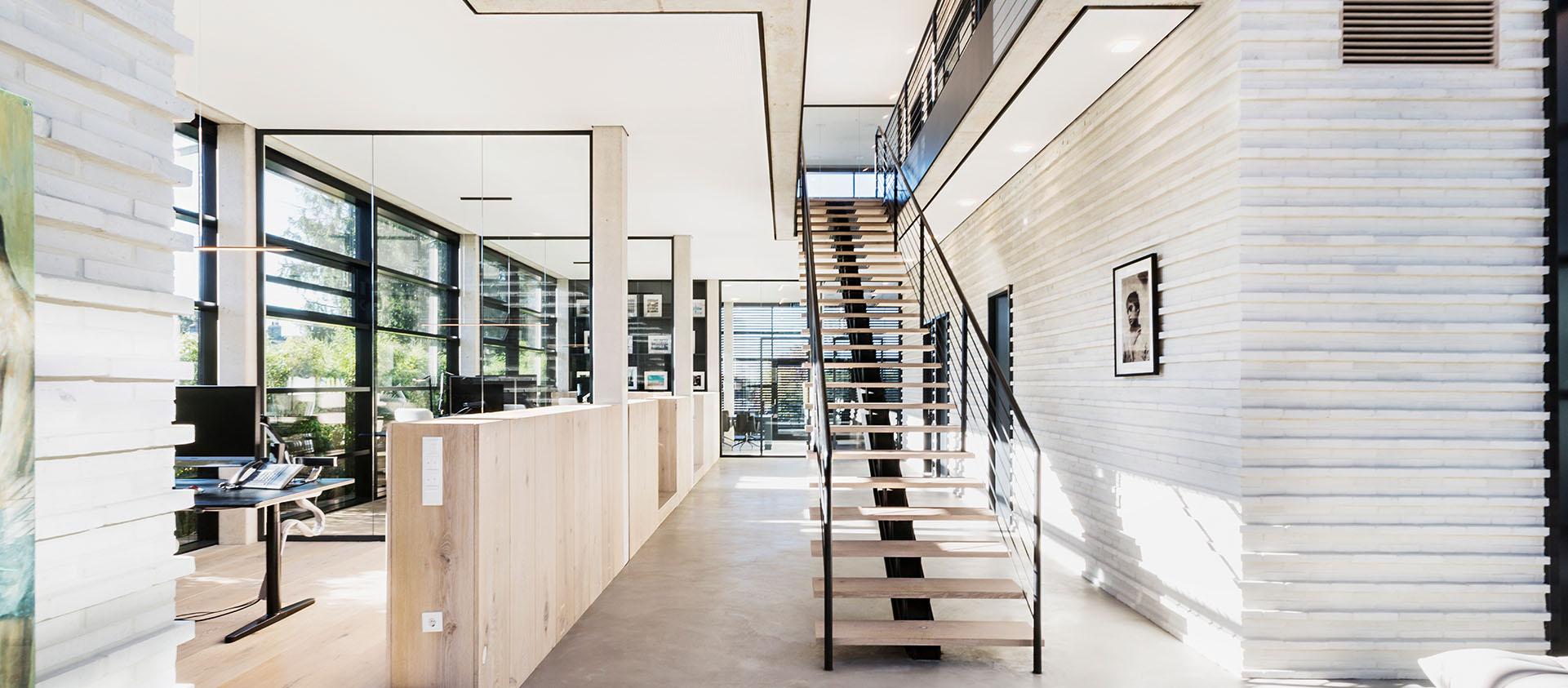 Eberhard und Florian Horn Architektur Eingangsbereich Interieur