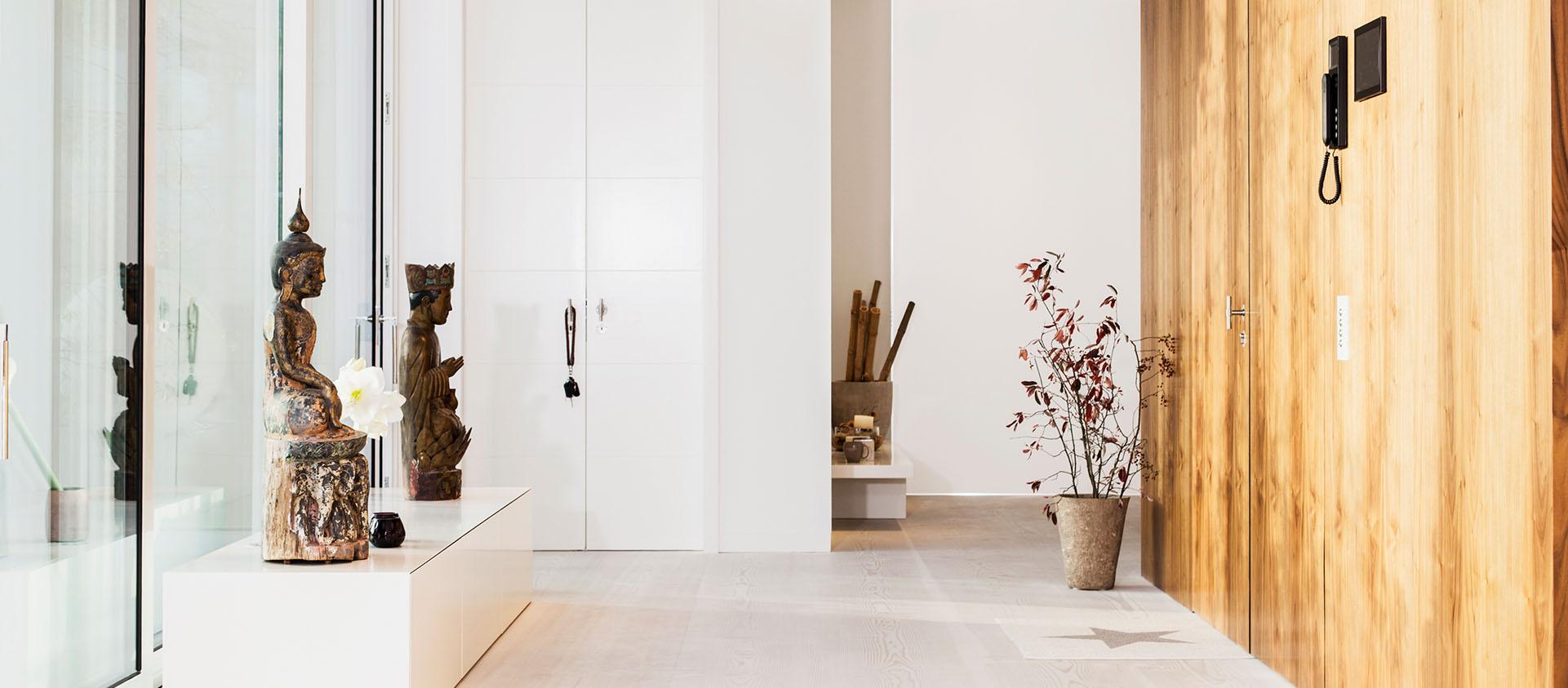 Penthouse Eingang Interieur Design Eberhard Horn Designgruppe Königstein