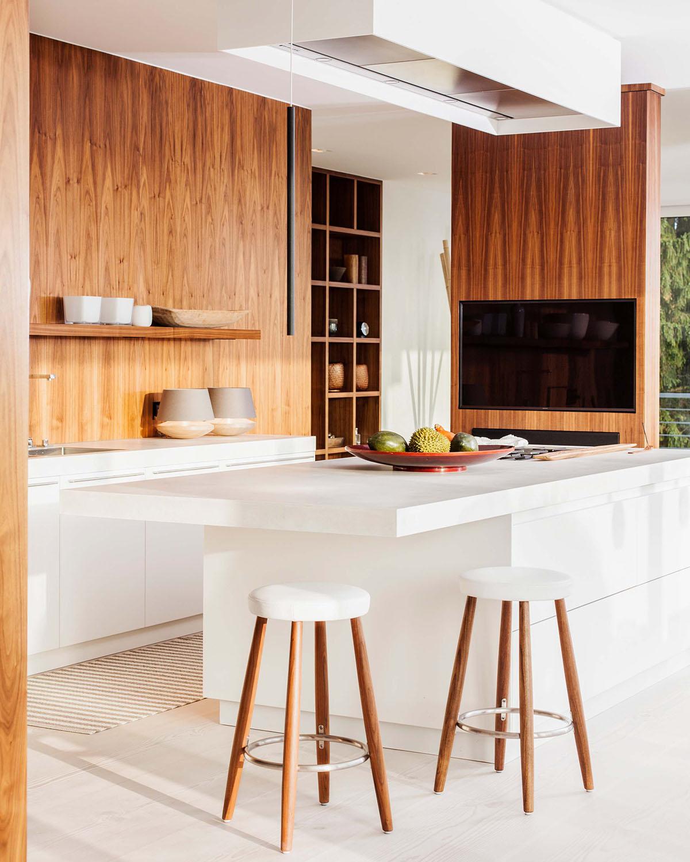Penthouse Küche modern Interieur Design Eberhard Horn Designgruppe Königstein