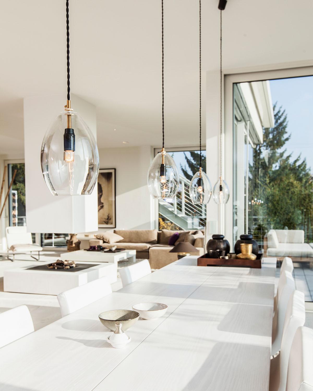Penthouse Detail Essbereich, Interieur Design Eberhard Horn Designgruppe Königstein