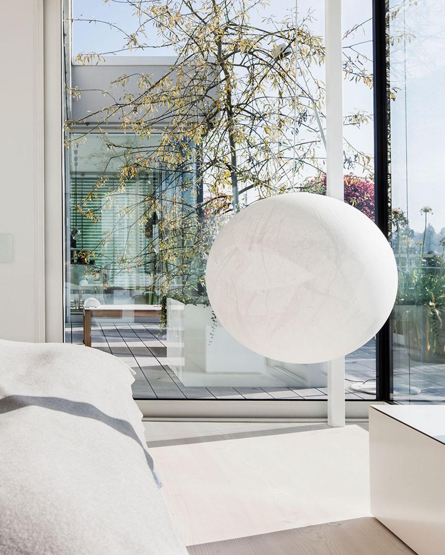 Penthouse Detail schlafzimmer, Interieur Design Eberhard Horn Designgruppe Königstein