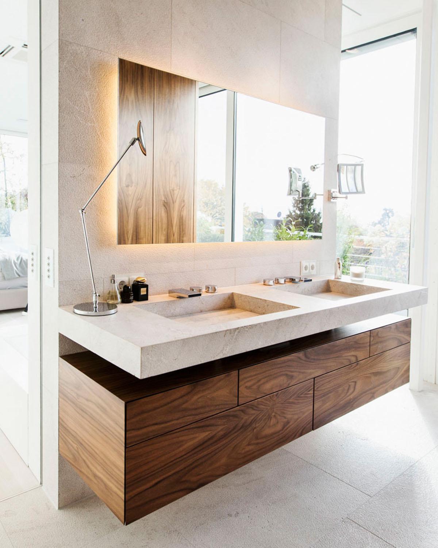 Penthouse Detail Badezimmer, Interieur Design Eberhard Horn Designgruppe Königstein