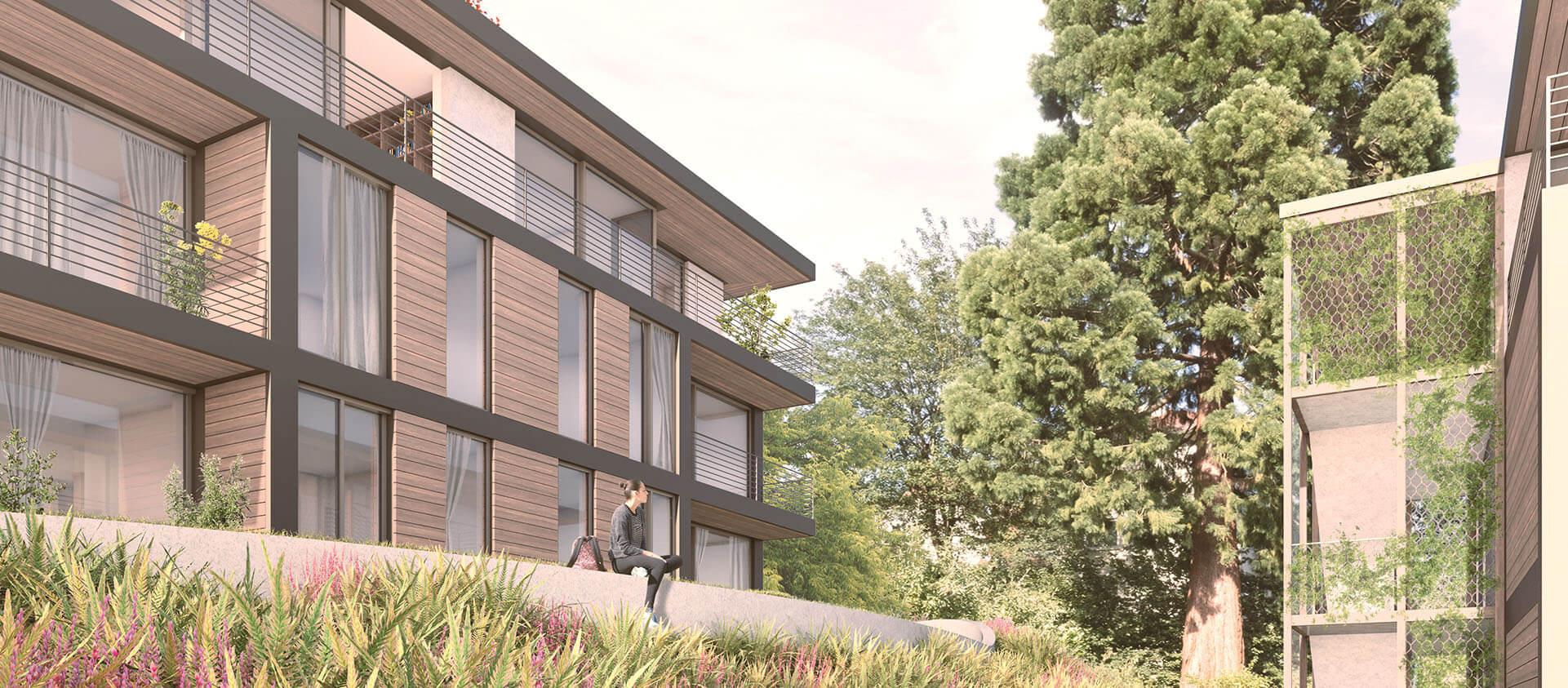 Wohngebäude in Königstein i. Ts. geplant von der Eberhard Horn Designgruppe