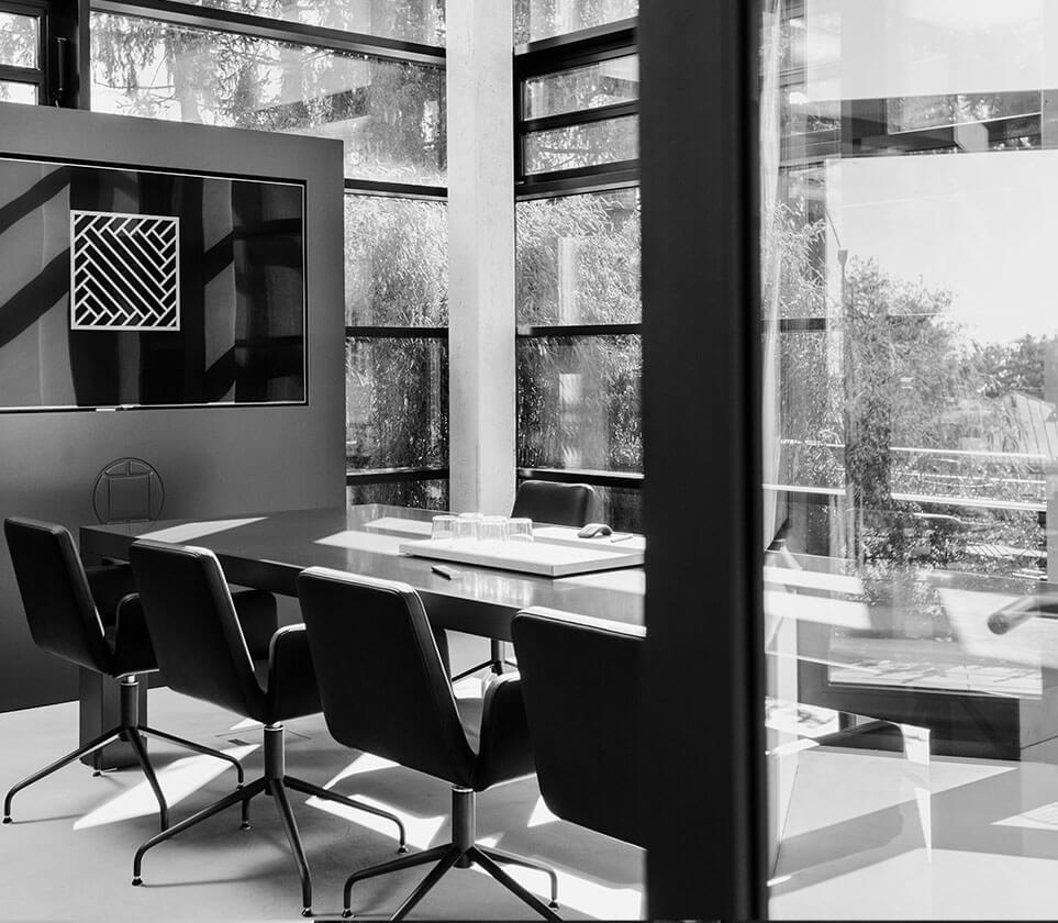 Besprechungsraum für Architektu und Projektentwicklung Raum Frankfurt