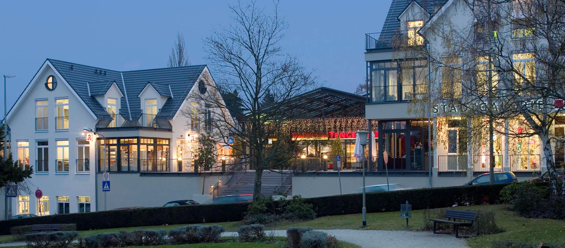 Stadtgalerie Königstein Einkaufen und Gewerbeflächen - Projektplanung Eberhard Horn Designgruppe