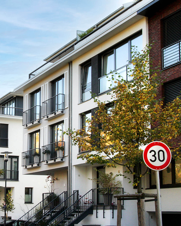 Townhouse mit französischem Balkon Bad Soden a. Ts., Eberhard Horn Designgruppe