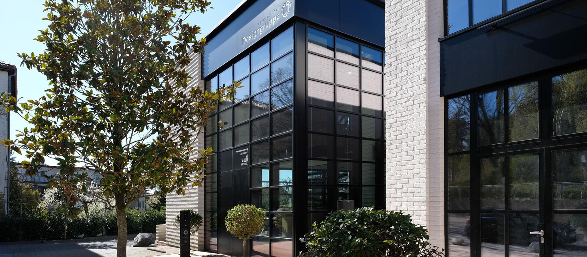Architektur Office der Eberhard Horn Designgruppe und NebengebäudeKönigstein