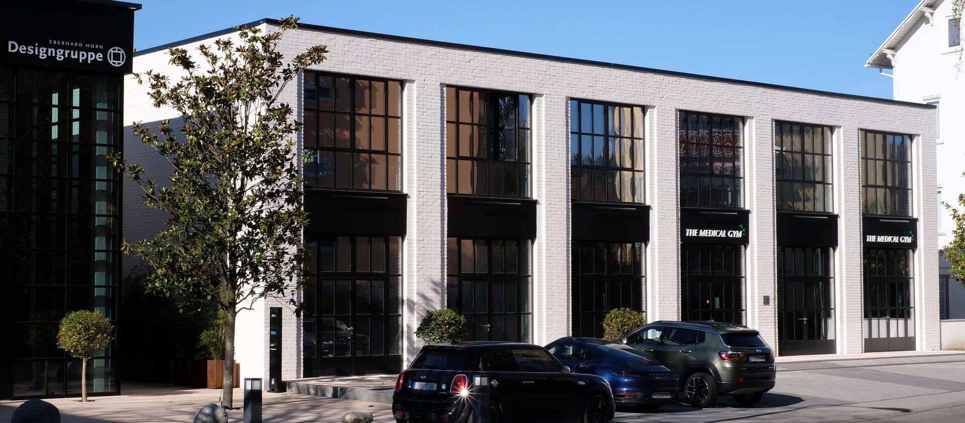 Architektur Florian + Eberhard Horn Backsteinfassade von Wohn- und Geschäftshaus