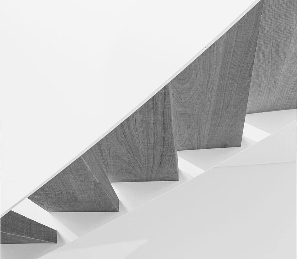 Detailbild Treppenstufen by Eberhard Horn Designgruppe